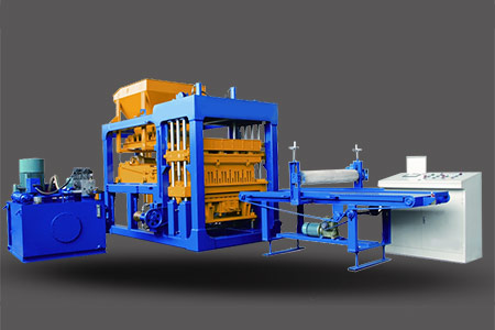 QT4-15 Automatic Block Making Plant