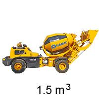 HMC150 Self-loading Concrete Mixer