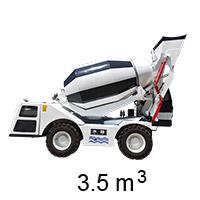HMC350 Self-loading Concrete Mixer