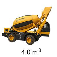 HMC400 Self-loading Concrete Mixer