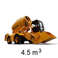 HMC450 Self-loading Concrete Mixer