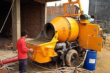 Concrete Mixer With Pump Concrete Mixing Pump Grout