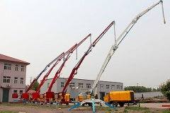 <b>Mobile Hydraulic Concrete Placing Boom</b>