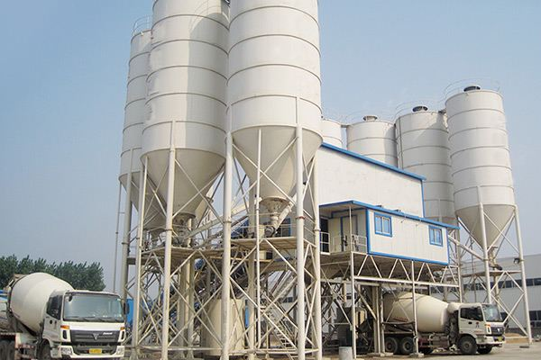 Skip hoist type Concrete Batching Plant