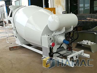 Concrete Mixing Drum Delivered to Korea