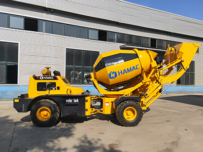 Hamac HMC150 self loading concrete mixer delivering to Africa this June 2019